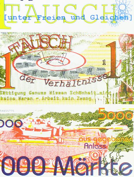 Währung: 1 Tausch, 1000 Märkte
